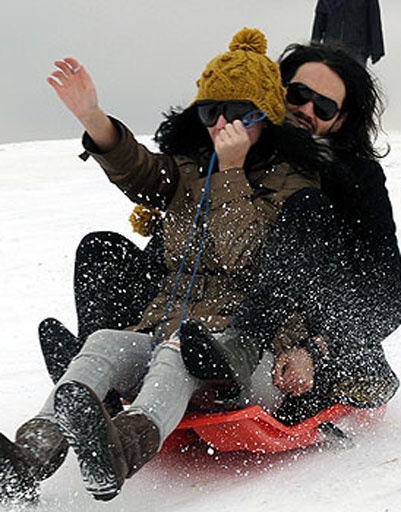 Кэти Перри (Katy Perry) и ее муж Рассел Брэнд (Russel Brand)