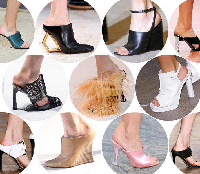 5 самых актуальных моделей обуви весны 2014 года