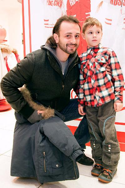 Илья Авербух с сыном, фото