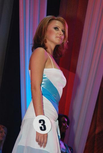 Бобкова Ольга, участница конкурса «Мисс Москва-2009»