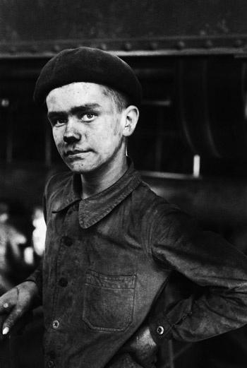 Молодой шахтер, север Франции. 1955 год.