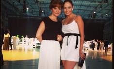 Ляйсан Утяшева вышла в свет в экстравагантном платье