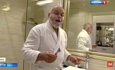 шутки пародии телеведущего дмитрия киселева переночевавшего номере навального