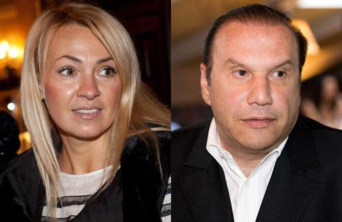 Яна Рудковская и Виктор Батурин