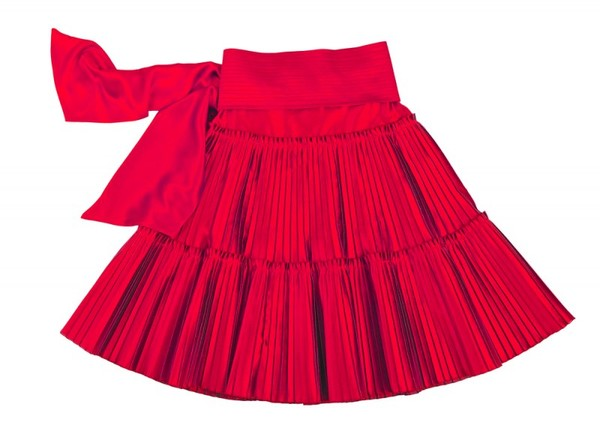 Крой юбки полусолнце