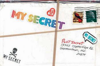 «Мой секрет. Пишите по этому адресу...»
