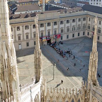 В миланском Палаццо Реале открылась новая выставка, посвященная итальянскому нонконформистскому движению в искусстве.