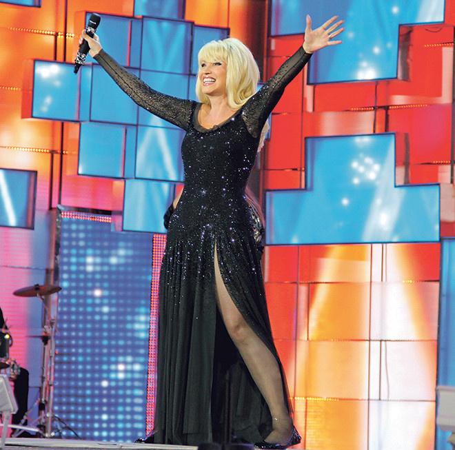 Омск, гастроли звезд, наряды звезд, концерты звезд, Ирина Аллегрова