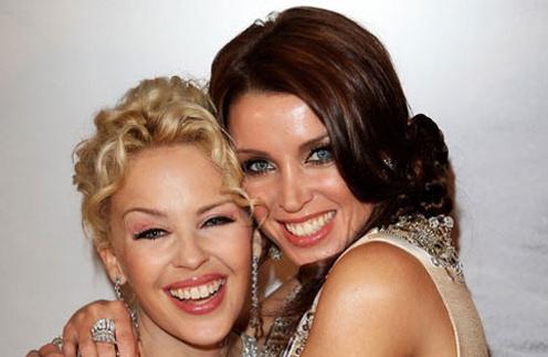 Данни Миноуг (Dannii Minogue) и Кайли Миноуг (Kylie Minogue)