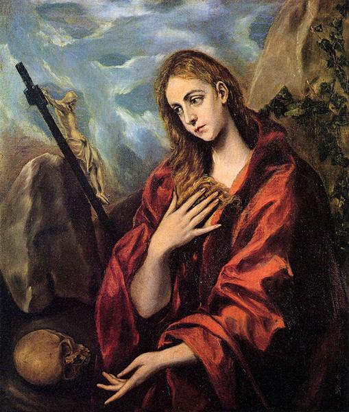 Эль Греко «Кающаяся Мария Магдалина», 1589 год