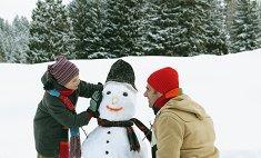 10 зимних забав для детей и взрослых