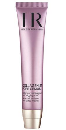 Средство для сужения пор и улучшения текстуры кожи, Collagenist Pore geniousм, Helena Rubinstein. Подходит как для молодой, так и для зрелой кожи, склонной к жирности и расширенным порам.