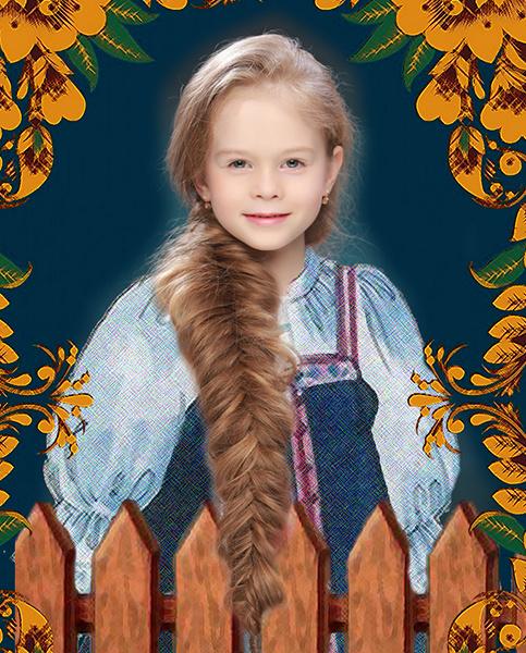 Софья Шилова, «Уральская краса – русская коса», фото