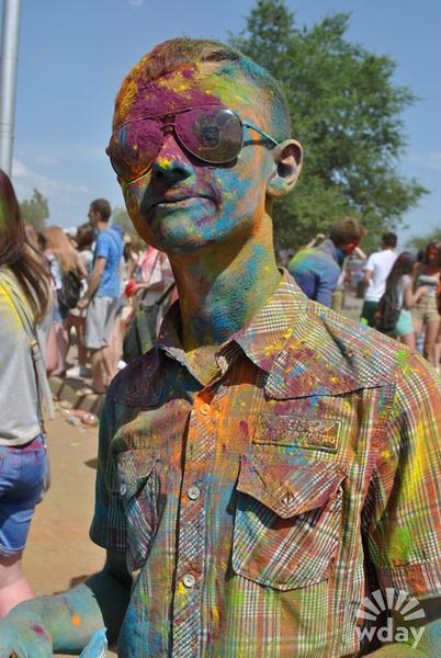 Смешные фото с фестиваля красок Ирис, июнь 2016