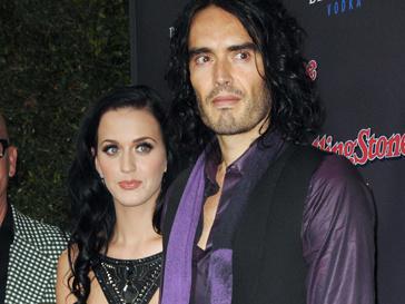Кэти Перри (Katy Perry) и Рассел Бренд (Russell Brand)