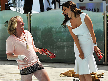 Кит Лемон (Keith Lemon) и Келли Брук (Kelly Brook)