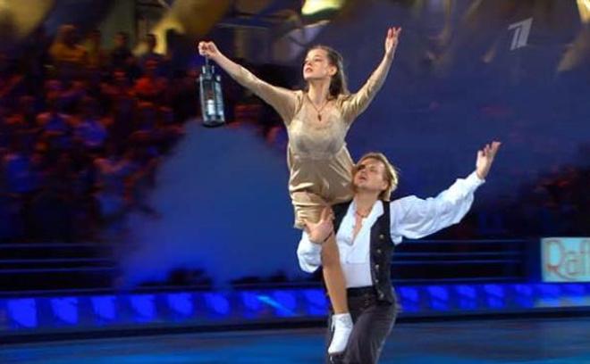 Успела Катерина поучаствовать в шоу «Ледниковый период»