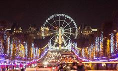 Диана Крюгер зажгла рождественские огни в Париже