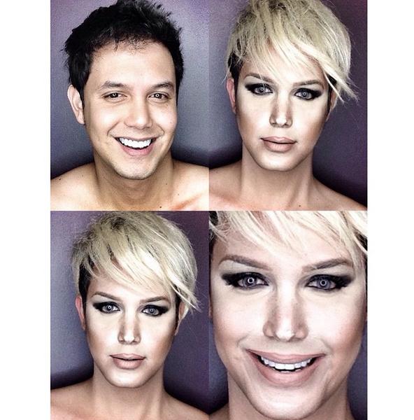 Филиппинский визажист перевоплотился в звезд с помощью макияжа   галерея [1] фото [5]