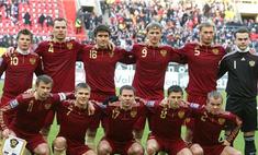 Сборная России по футболу не вошла в топ-10 команд FIFA