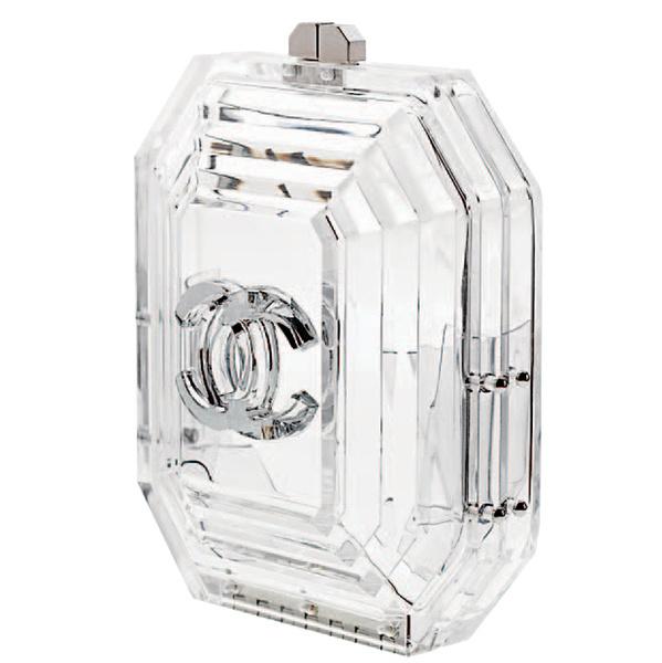 Клатч из пластика, Chanel.