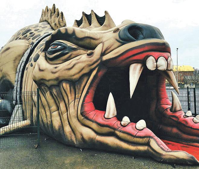 Аттракцион «Дракон» в Ростове, куда пойти в Ростове, афиша Ростова, куда пойти с ребенком, куда сходить в ростове