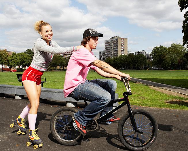 Покатушки на велосипедах, фото