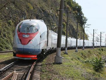 """Высокоскоростной поезд """"Сапсан"""", Sapsan train"""