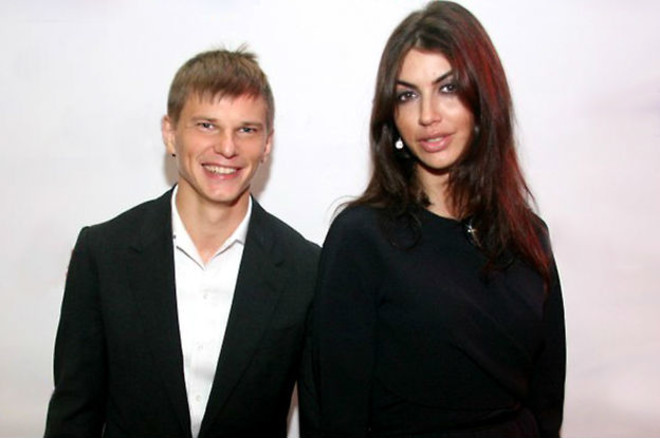 Андрей Аршавин и Алиса Казьмина фото