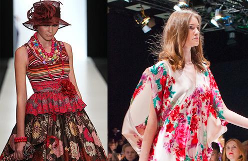 Mercedes-Benz Fashion Week: Slava Zaitcev и Von Vonni