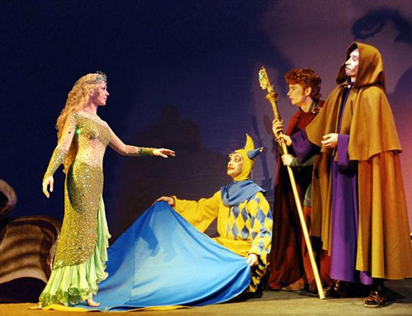Спектакль «Баллада о Морской царевне»