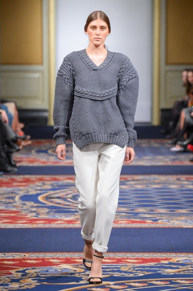 Показ осенне-зимней коллекции Ruban на Mercedes-Benz Fashion Week RussiaПоказ осенне-зимней коллекции Ruban на Mercedes-Benz Fashion Week Russia   галерея [2] фото [29]
