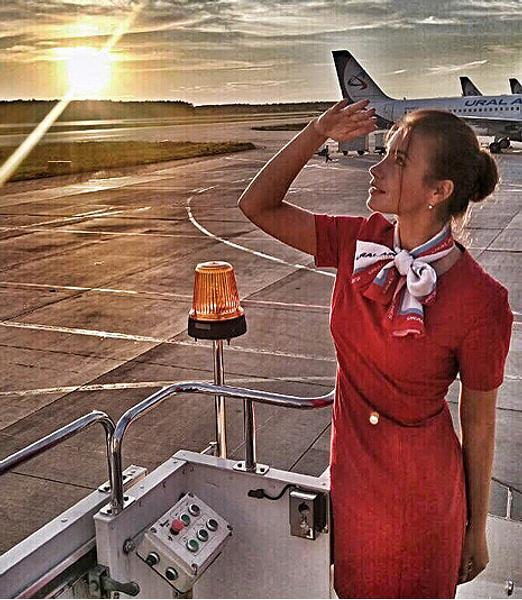 Юлия Калистратова, стюардесса, фото
