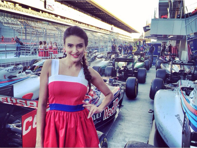 Формула-1 в Сочи Grid Girl