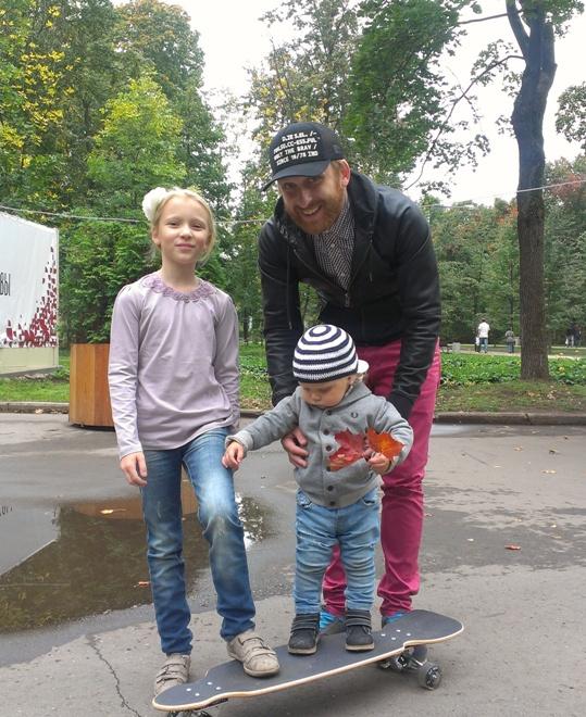 Гавриил Гордеев с детьми