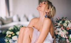 Вера Брежнева примерила свадебное платье Золушки