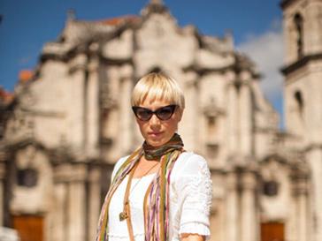 Аврора на Кубе