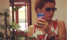 Юная перечница: Ксения Бородина примерила главный тренд лета
