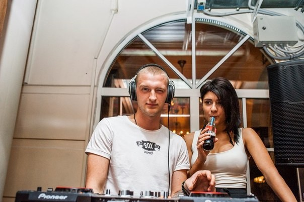Симона Да Сильва и Алекс Верон
