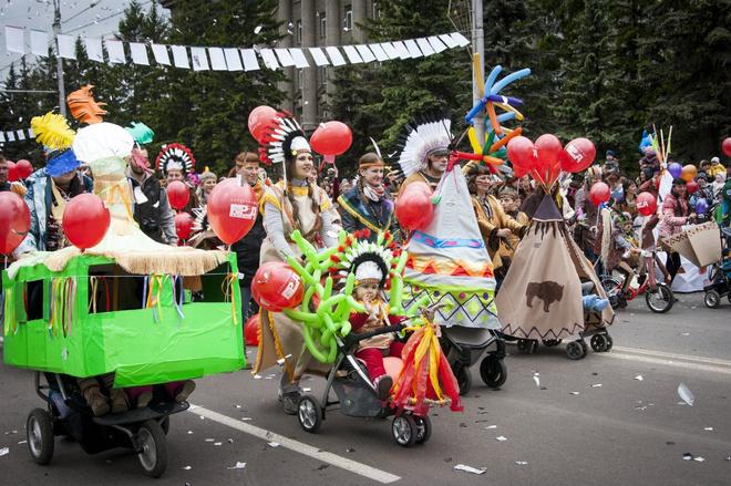 Детский карнавал в Красноярске