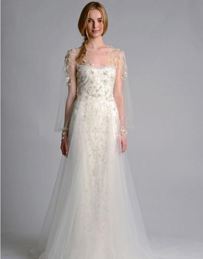 Свадебное платье Marchesa 2014