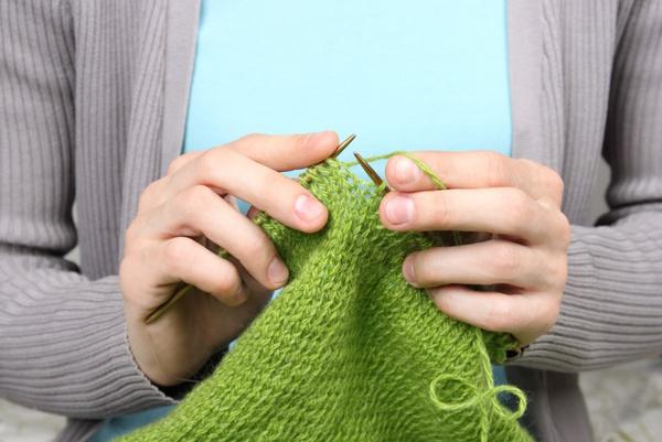 Вязание жилета на пуговицах