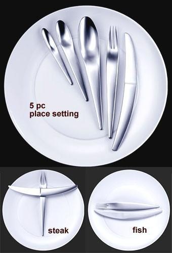 дизайнерские столовые приборы