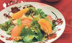 Фруктовый салат со шпинатом