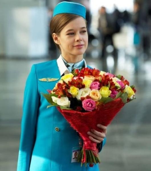 Катерина Шпица в фильме Экипаж