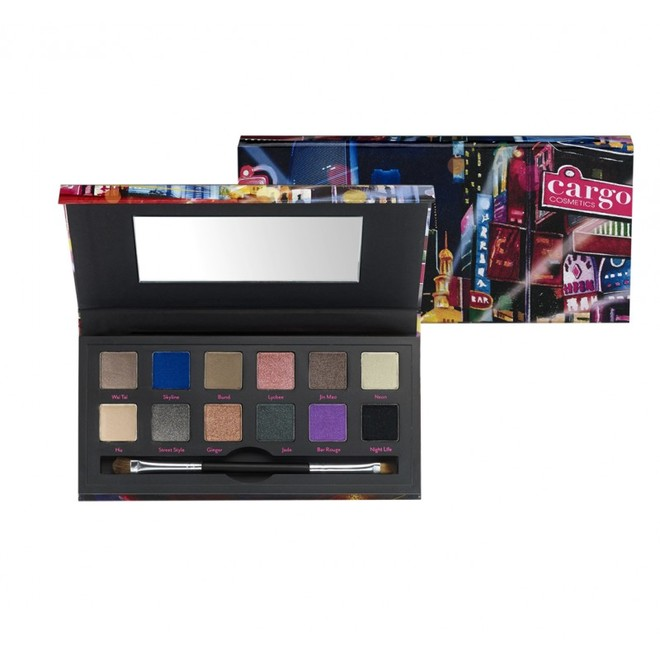 Cargo Cosmetics, Shanghai Nights Eyeshadow Palette, 3285 рублей