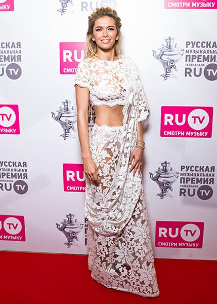Вера Брежнева на премии RU. TV 2016