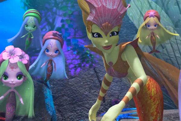 Кадр из фильма «Клуб Винкс: тайна морской бездны»