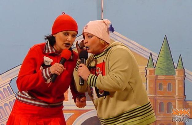 Светка и Жанка - один из самых популярных дуэтов КВН