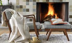 Атмосферно и уютно: как вписать камин в интерьер